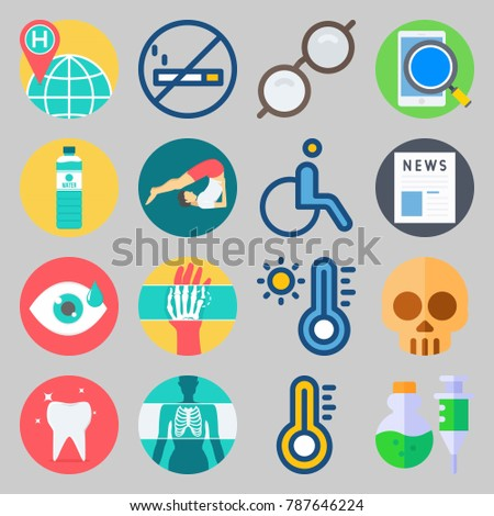 icon set about medical with
