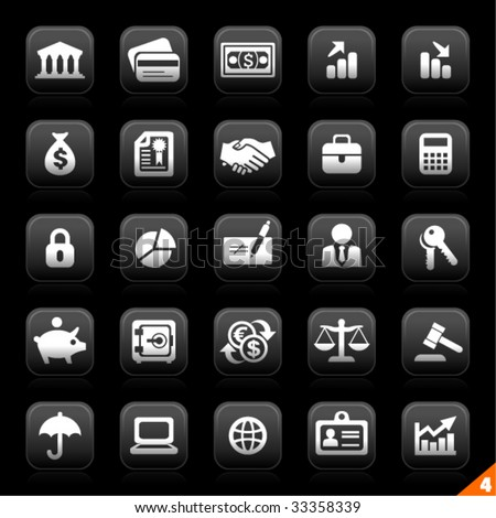 icon set 4 - Business