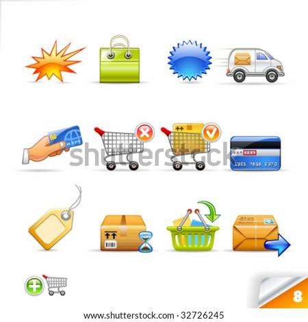 icon set - commerce