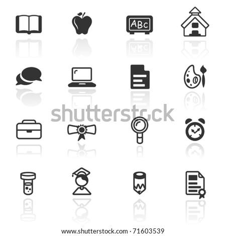 Icon set  education