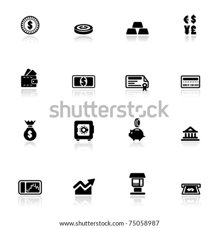 Icon set  Financial