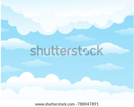 icon sky cloud white background blue cloudy vector wallpaper art light