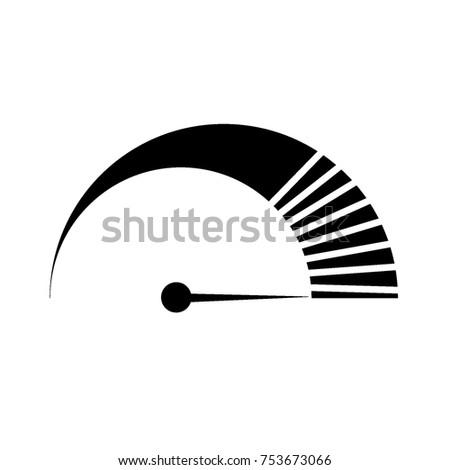icon speed. vector