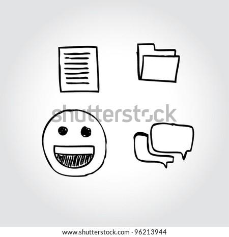 icon/symbol computer internet  file