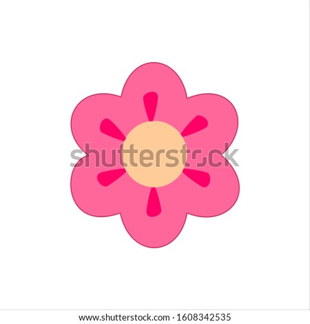 icon Vectorized Flower vector  illustrations.