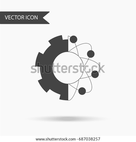 icon with the image of gears
