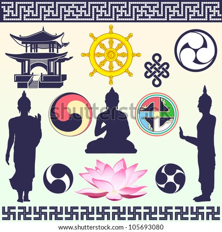 icons and symbols  buddhism