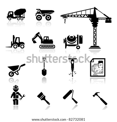 icons construction