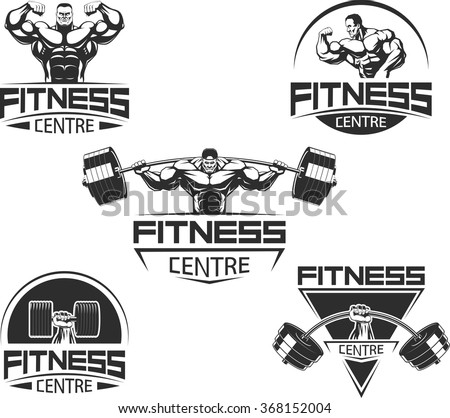 icons for bodybuilding and