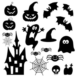 Icons for Halloween