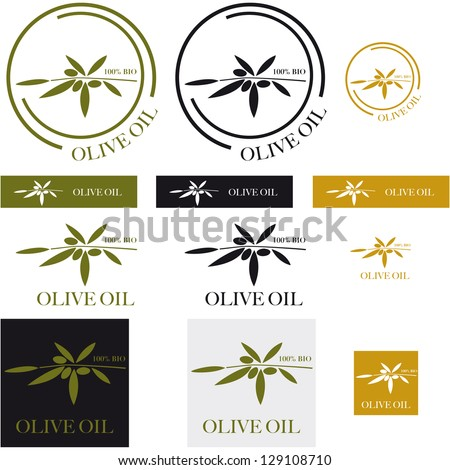 icons for olive oil
