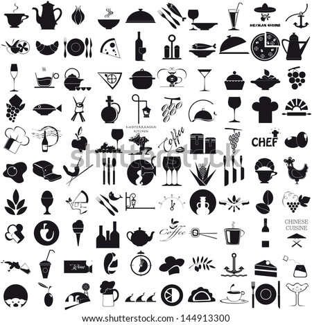 Icons For The Gastronomy