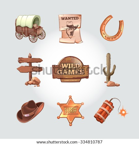 icons for wild west computer