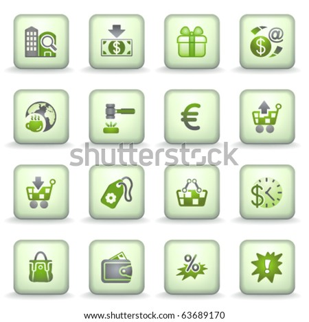 Icons green gray series 10