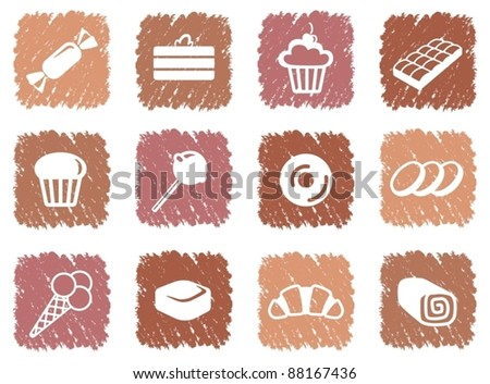 Icons of sweets