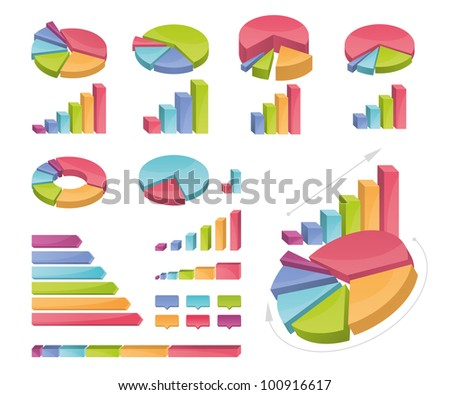 Icons of various charts and diagrams