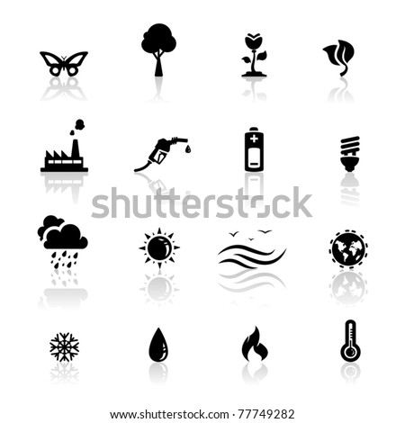 icons set environment and