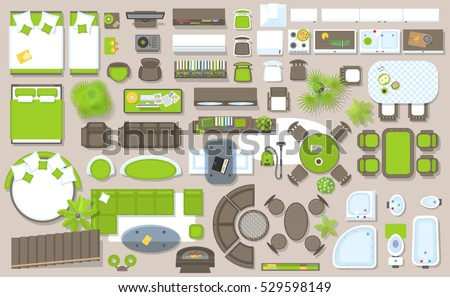 Furniture Floor Plan free floor plan vector - download free vector art, stock graphics
