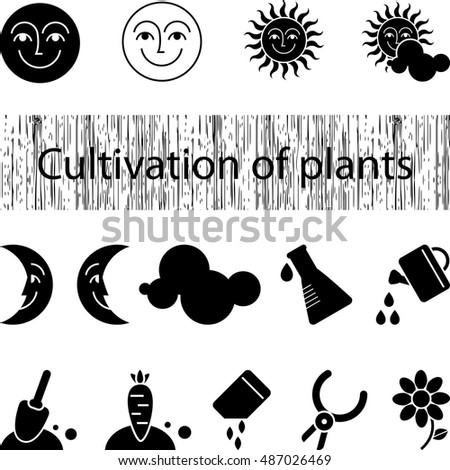 icons the cultivation of plants