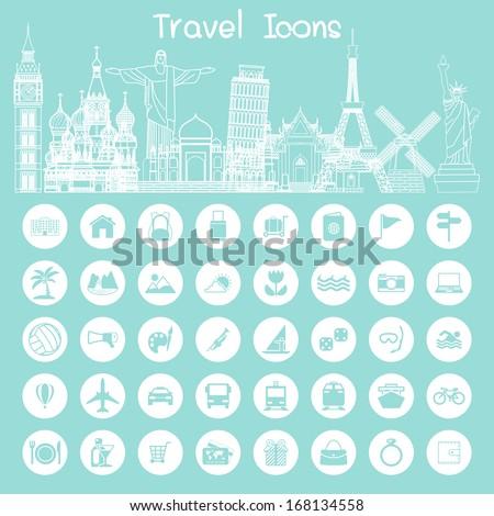 icons  travel info