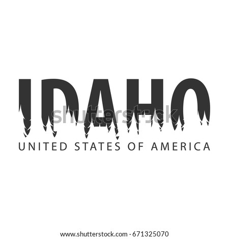 idaho. usa. united states of...