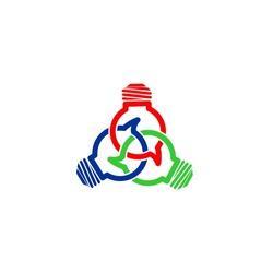 idea connect vector logo