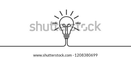 Idea, creative concept sign bulb - for stock