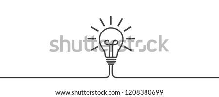 Idea, creative concept sign bulb - for stock