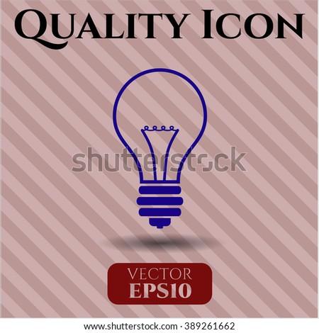 Idea high quality icon