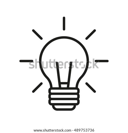 idea icon vector eps10 eps jpg flat app web art