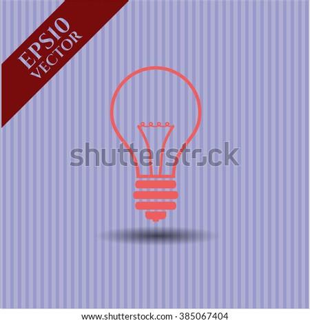 Idea icon vector illustration