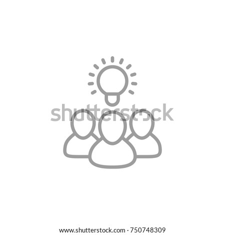 idea, insight, brainstorm icon