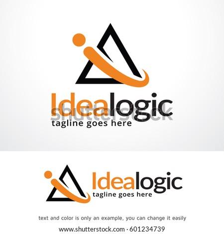 Idea Logo Template Design Vector