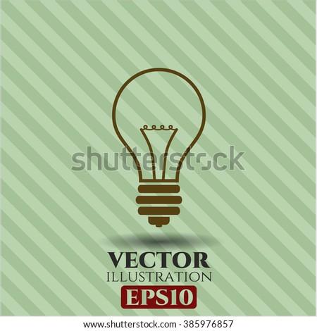 Idea vector icon or symbol