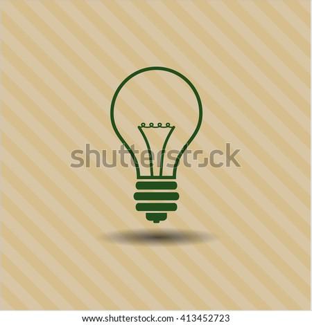 Idea vector symbol