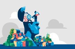 Ideas, progress and vision of tomorrow