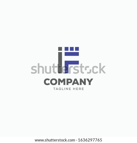 IF LETTER LOGO, LOGO DESIGN FOR TECHNOLOGY COMPANY OR TECH COMPANY.