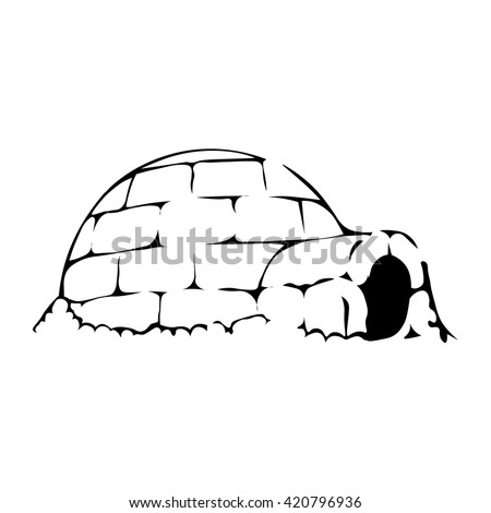 igloo icon igloo icon vector