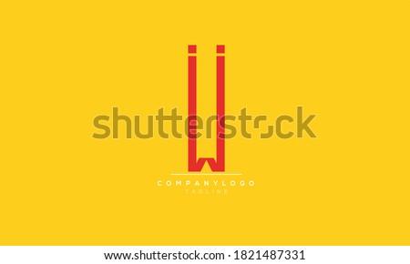 ii abstract initials monogram