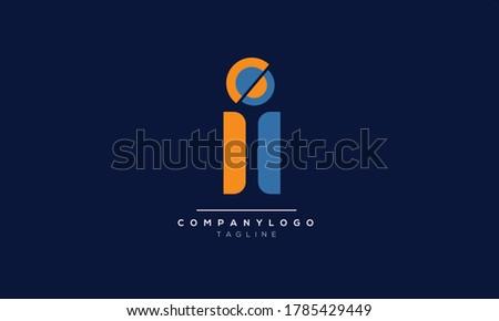 ii initials monogram letter