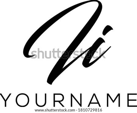ii letter initial logo design