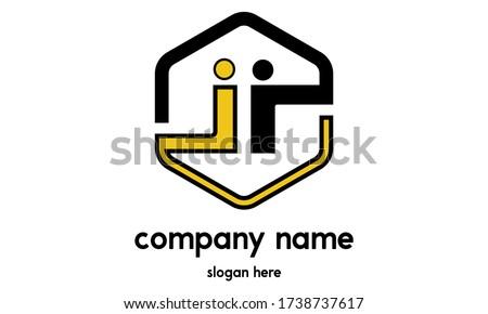 ii letter vector logo ii