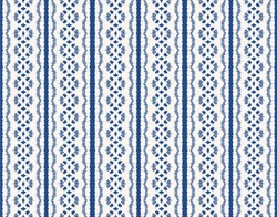 Ikat seamless pattern. Vector tie dye shibori print with stripes and chevron.