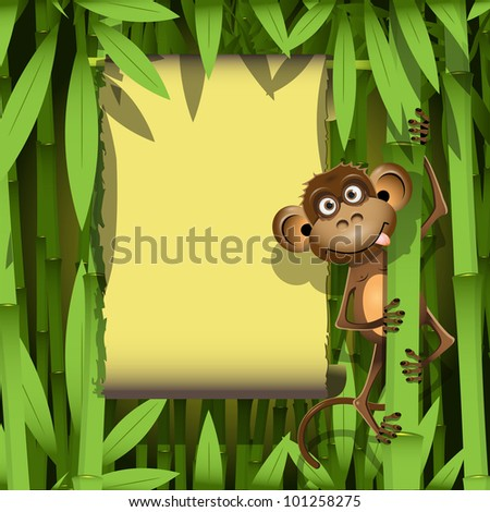 ... Pictures photo jungle monkey funny animal vector illustration lordalea