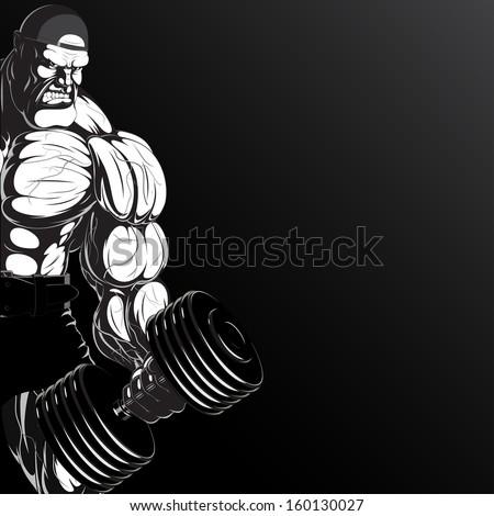 illustration  a ferocious