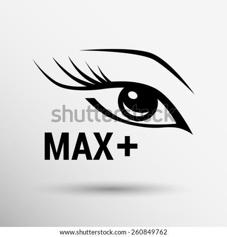 illustration brushes mascara