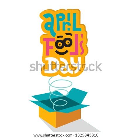 illustration celebrating april
