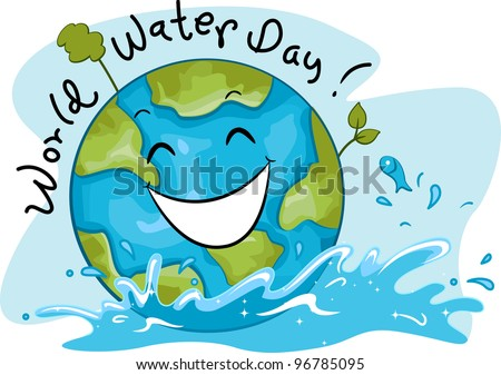 Illustration Celebrating World Water Day