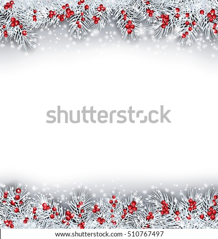 illustration christmas banner