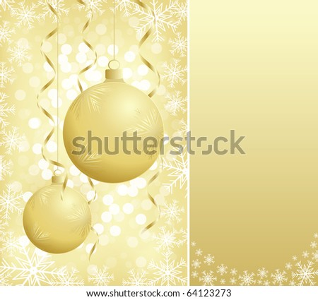 illustration contains the image of christmas greeting